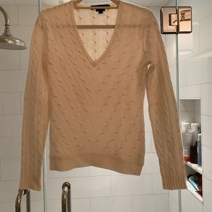 Cream Cashmere Cashmere Ralph Lauren Sweater